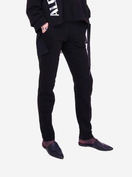 Фото товара: женские брюки 201-000-02 черный. Вид 2.