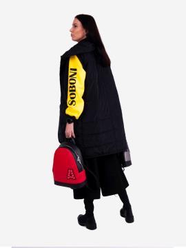 Фото товара: женский жилет 201-031-00 черный. Вид 2.