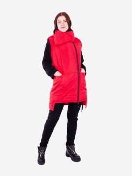 Фото товара: женский жилет 201-032-00 красный. Вид 1.