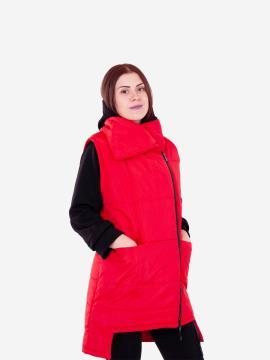 Фото товара: женский жилет 201-032-00 красный. Вид 2.
