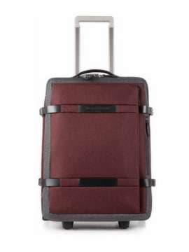 Брендовый чемодан piquadro move2/red-grey средний bv2960m2_rgr. Изображение товара, вид 1