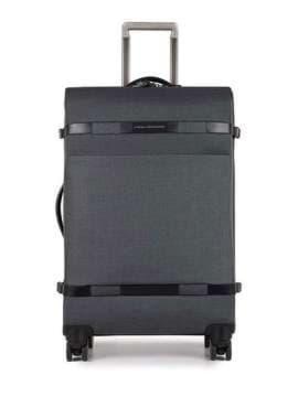 Молодежный чемодан piquadro move2/grey средний bv3874m2_gr. Изображение товара, вид 1
