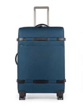 Молодежный чемодан на 4 колесах piquadro move2 (m2) bv3874m2_blu. Изображение товара, вид 1