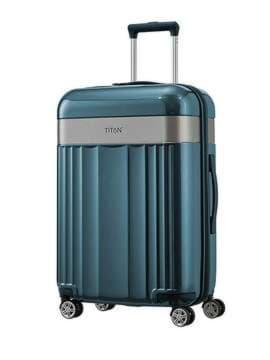 Модный чемодан titan spotlight flash/north sea средний ti831405-22. Изображение товара, вид 1