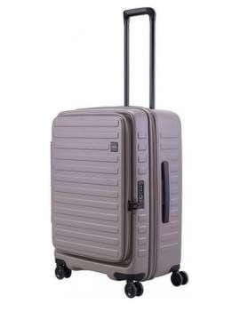 Стильный чемодан на 4 колесах lojel cubo 18/warm grey средний lj-cf1627-1m_gr. Изображение товара, вид 1