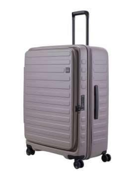 Брендовый чемодан на 4 колесах lojel cubo 18/warm grey большой lj-cf1627-1l_gr. Изображение товара, вид 1