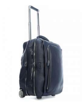 Стильный чемодан на 2 колесах piquadro modus (mo) bv2960mo_blu. Изображение товара, вид 2