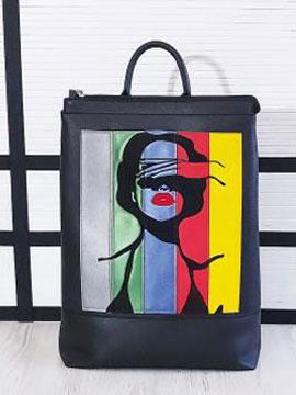 Фото товара: рюкзак 201303 чорний. Вид 1.