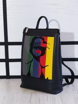 Фото товара: рюкзак 201303 чорний. Вид 2.