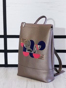 Фото товара: рюкзак 201304 бронза. Вид 2.