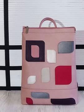 Фото товара: рюкзак 201306 рожевий. Вид 1.