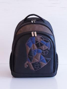 Фото товара: рюкзак 201713 чорний. Вид 1.
