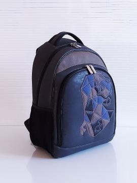 Фото товара: рюкзак 201713 чорний. Вид 2.