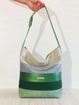 Фото товара: сумка 201321 м'ята. Вид 1.