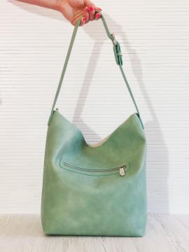 Фото товара: сумка 201321 м'ята. Вид 2.