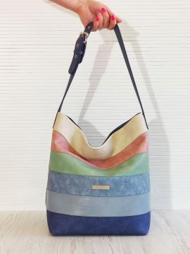 Фото товара: сумка 201322 синій. Вид 1.