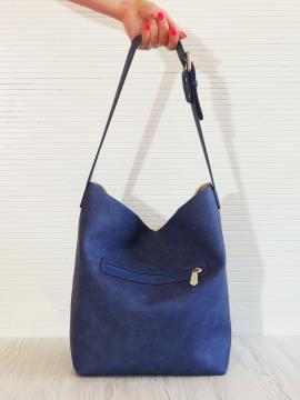 Фото товара: сумка 201322 синій. Вид 2.