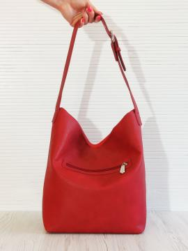 Фото товара: сумка 201323 червоний. Вид 2.