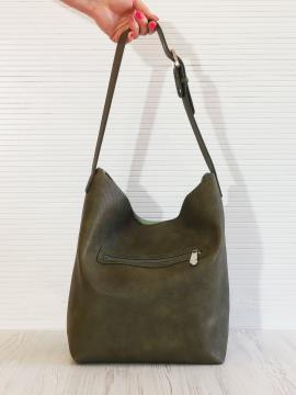 Фото товара: сумка 201324 хакі. Вид 2.