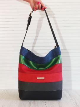 Фото товара: сумка 201325 чорний. Вид 1.