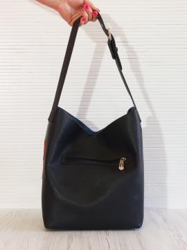 Фото товара: сумка 201325 чорний. Вид 2.