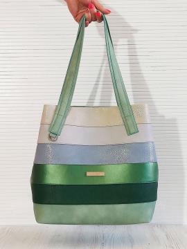 Фото товара: сумка 201331 м'ята. Вид 1.