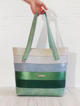 Фото товара: сумка 201331 м'ята. Вид 2.