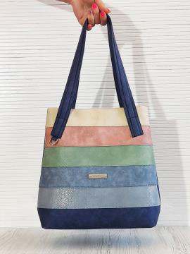 Фото товара: сумка 201332 синій. Вид 1.
