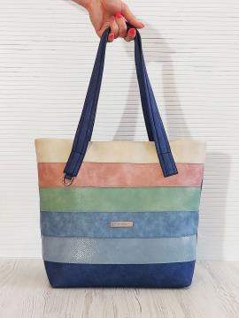 Фото товара: сумка 201332 синій. Вид 2.