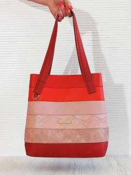 Фото товара: сумка 201333 червоний. Вид 1.