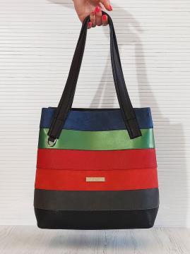 Фото товара: сумка 201335 чорний. Вид 1.