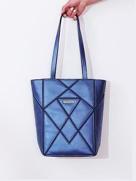 Фото товара: сумка 201371 синій-перламутр. Вид 1.