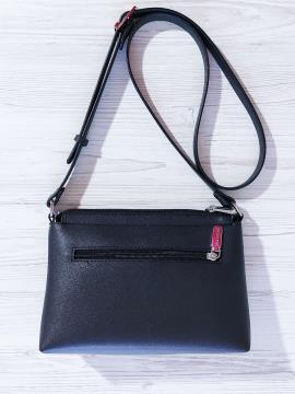 Фото товара: сумка через плече 201313 чорний. Вид 2.