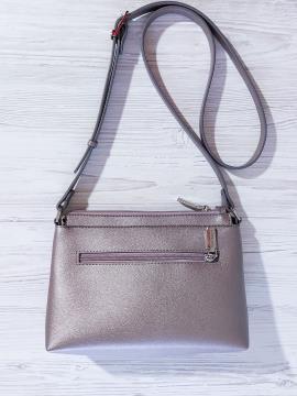 Фото товара: сумка через плече 201314 бронза. Вид 2.
