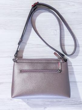Фото товара: сумка через плече 201315 бронза-рожевый. Вид 2.