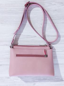 Фото товара: сумка через плече 201316 рожевий. Вид 2.