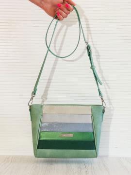 Фото товара: сумка через плече 201341 м'ята. Вид 1.