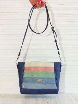 Фото товара: сумка через плече 201342 синій. Вид 1.