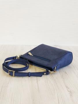 Фото товара: сумка через плече 201342 синій. Вид 2.