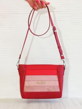 Фото товара: сумка через плече 201343 червоний. Вид 1.