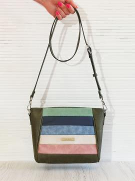 Фото товара: сумка через плече 201344 хакі. Вид 1.