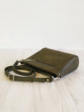 Фото товара: сумка через плече 201344 хакі. Вид 2.