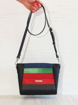 Фото товара: сумка через плече 201345 чорний. Вид 1.