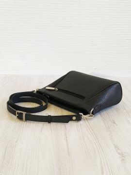 Фото товара: сумка через плече 201345 чорний. Вид 2.