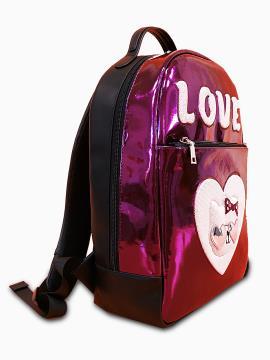 Рюкзак школьный для девочки Хелло Китти Love alba soboni 211504 цвет розовый . Фото - 2