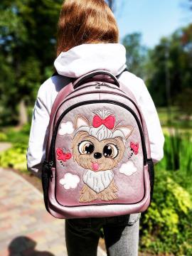 Фото товара: школьный рюкзак 211704 розовый. Фото - 1.