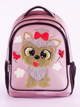Фото товара: школьный рюкзак 211704 розовый. Фото - 2.