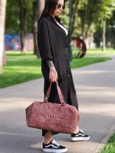 Дорожная сумка THE WORLD IS MINE alba soboni 212373 цвет бордо-никель . Фото - 1