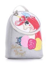 Фото товара: детский рюкзак 2036 серебро. Вид 1.