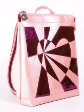 Фото товара: рюкзак 2102 розовый-перламутр. Вид 1.